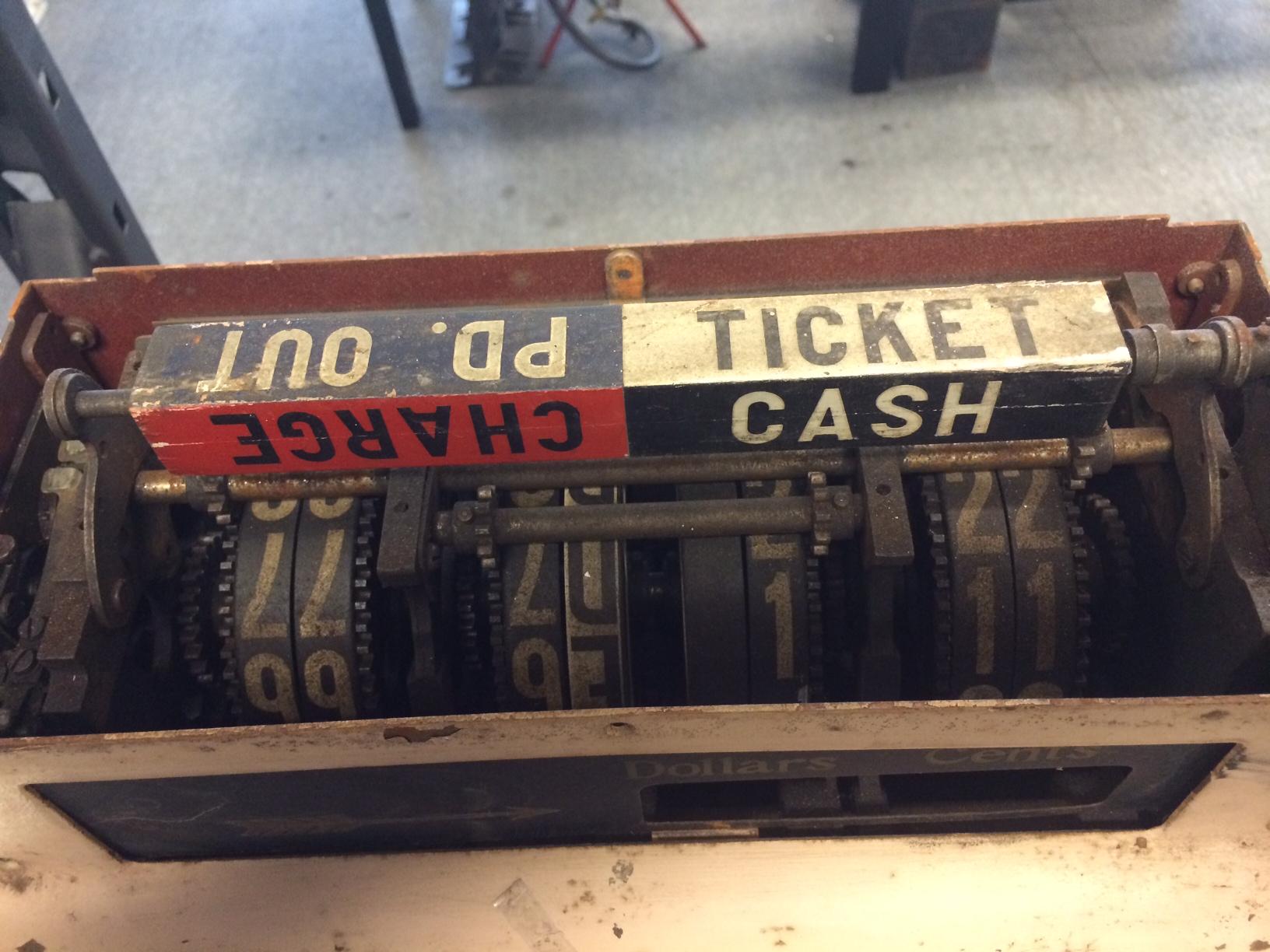 1920 NCR Cash Register